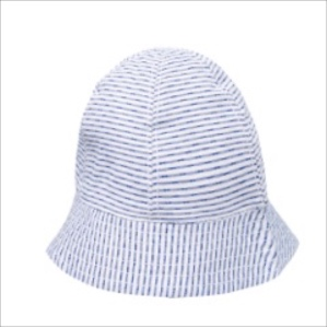 Absorba Baby Boys Blue Stripe Sun Hat