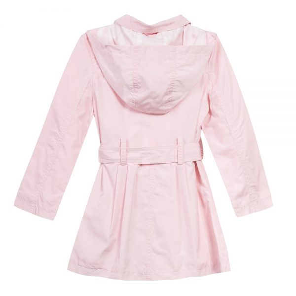 3 pommes girls pink raincoat