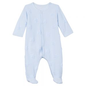 Absorba Baby Boys Blue Babygrow