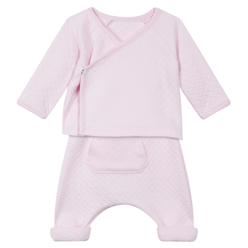 Absorba Baby Girls Pink Top & Pants Baby Set