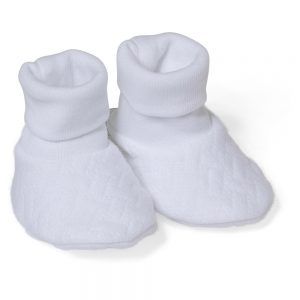 Absorba White Unisex baby Booties