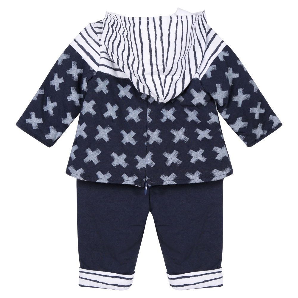 408e200cd7 3 Pommes Baby Boys Top & Trousers Set