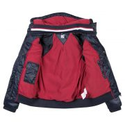3 Pommes Boys Navy Blue Padded Jacket