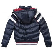 3 Pommes Boys Navy Blue Padded Coat
