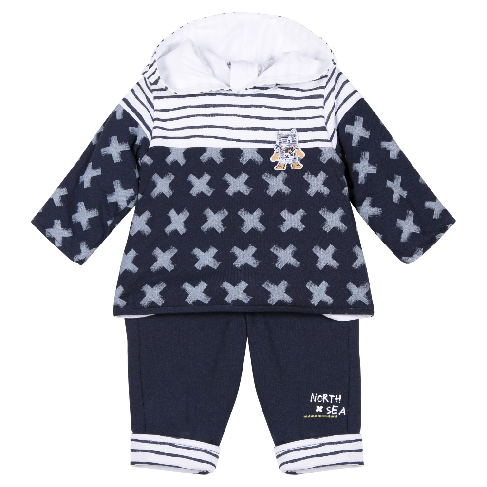 3 Pommes Baby Boys Top & Trousers Set