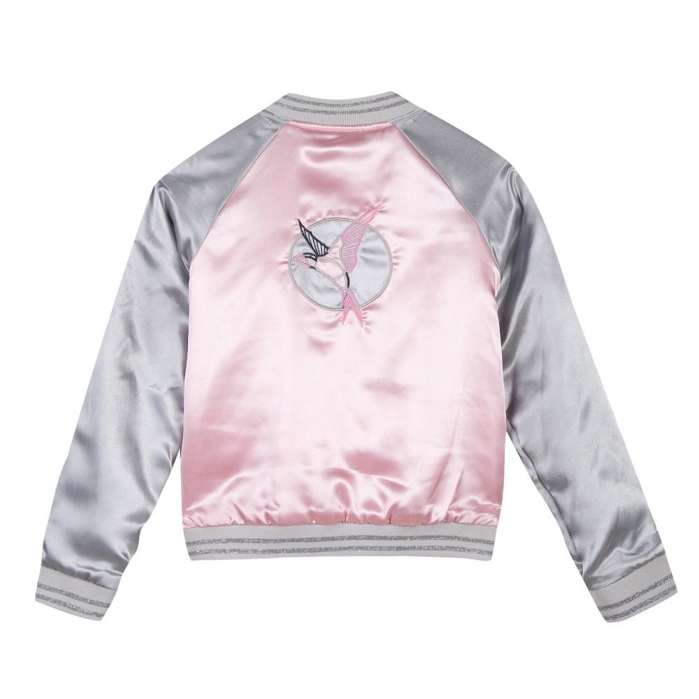 3 Pommes Girls Pink Bomber Jacket Bumpalumpa Com