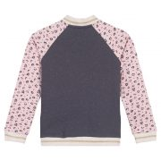3 Pommes Girls Pink & Grey Jacket