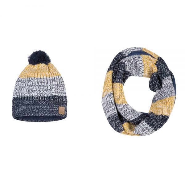 3 Pommes Boys Hat & Scarf Set
