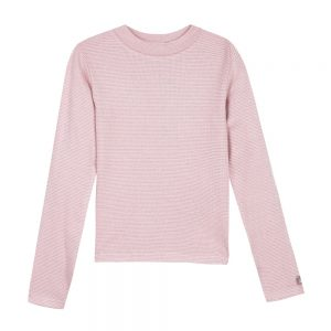 3 Pommes Girls Pink Long Sleeve Top