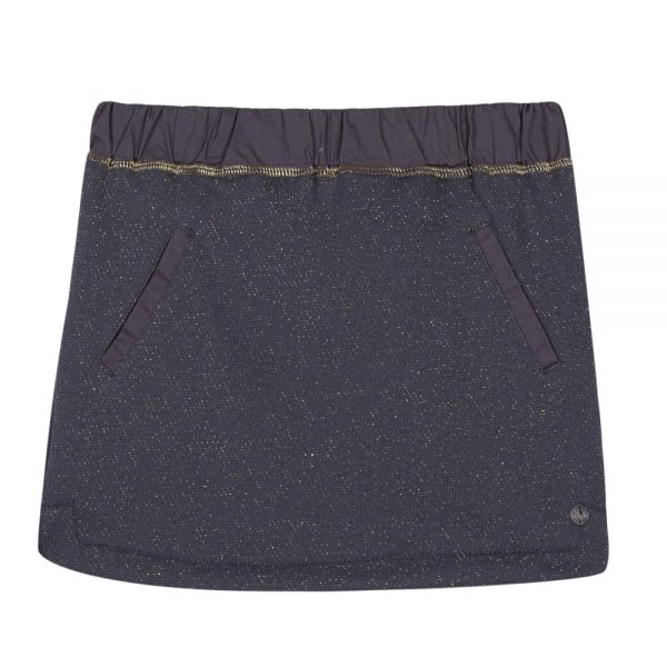 3 Pommes Girls Grey Skirt