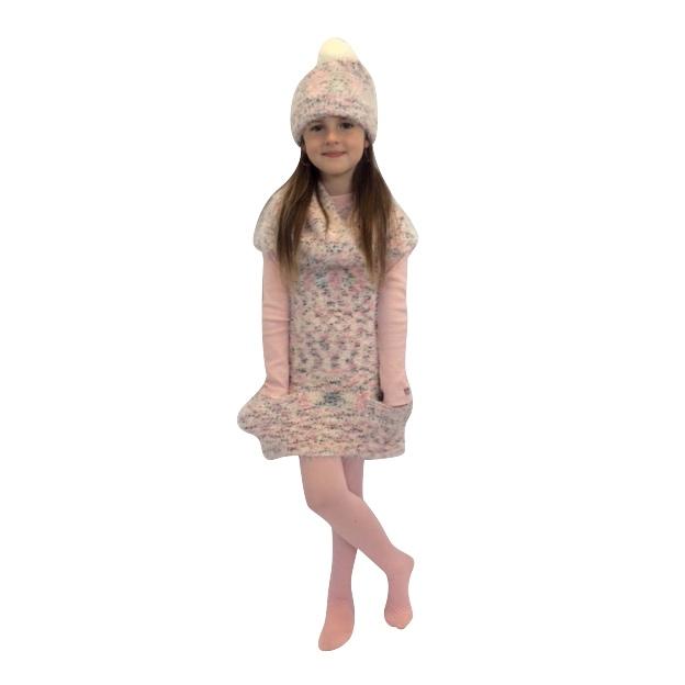 3 Pommes Wool Jumper Dress