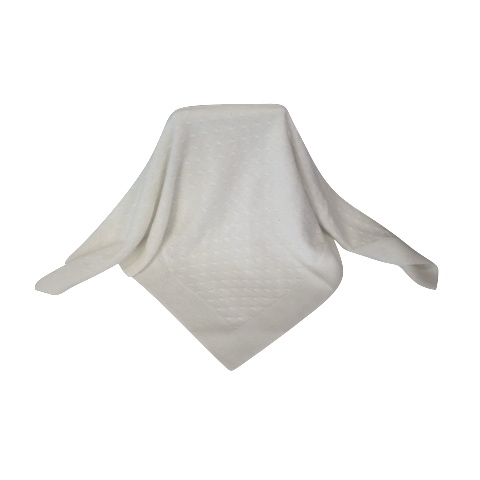 Coco Collection White Baby Shawl