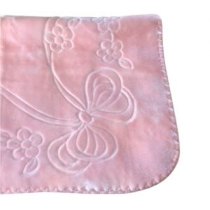 Baby Girls Thick Fleece Blanket