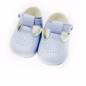 Baby Boys Blue Pre-walker Baypod Shoes