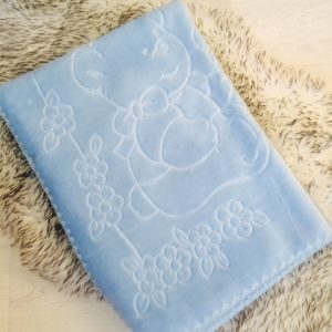Baby Boys Blue Fleece Blanket