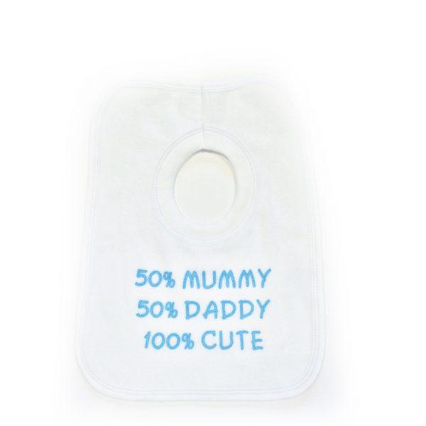 Baby Boys Slogan Bib