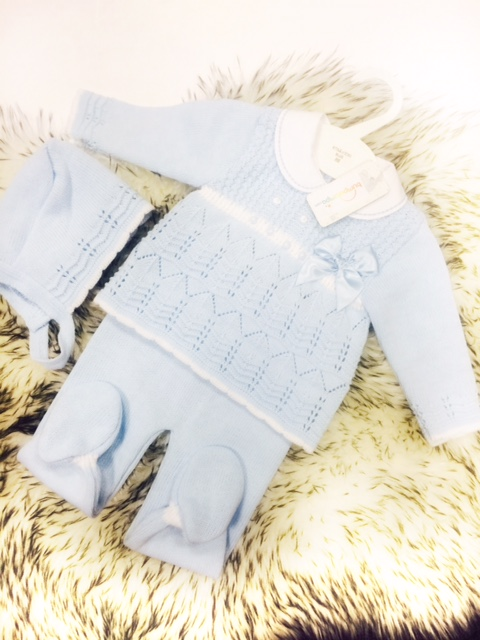 Baby Blue 3 Piece Set