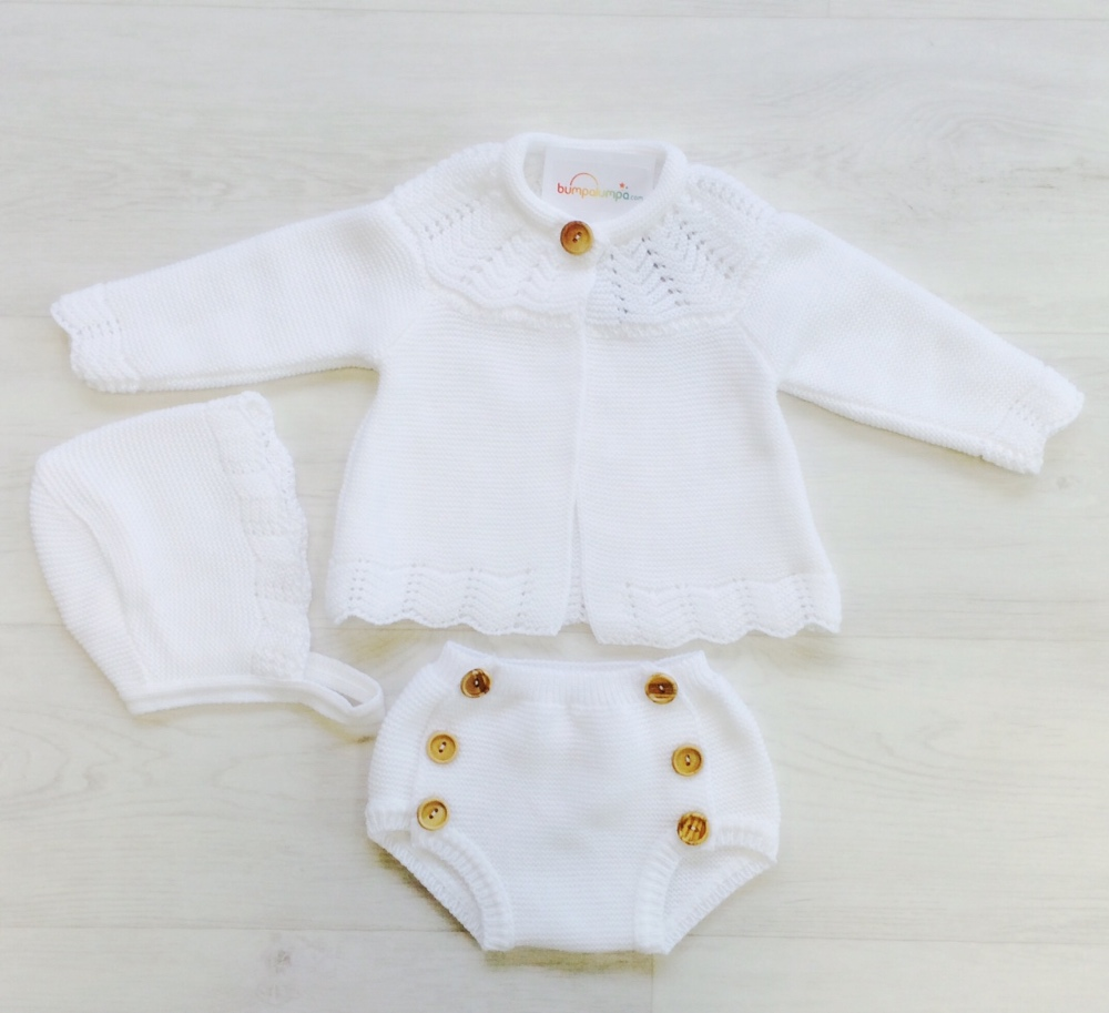 Baby White Outfit