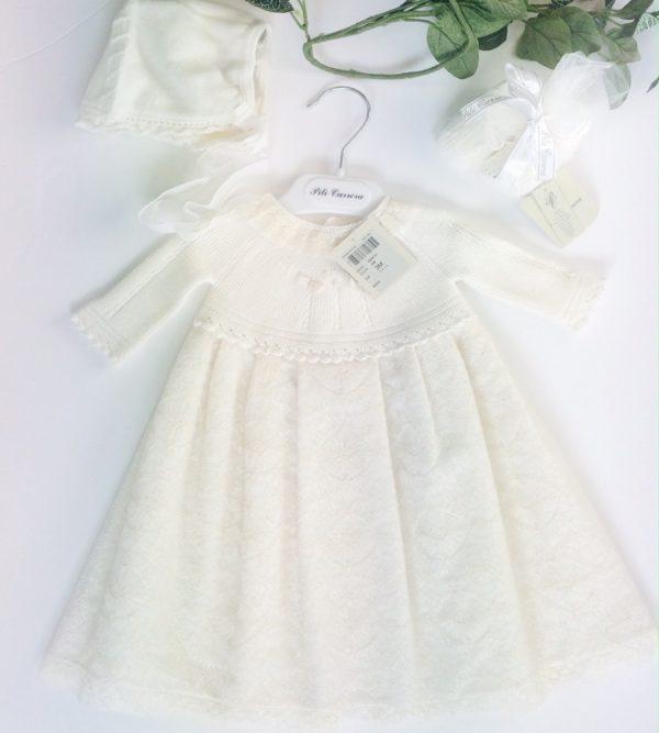 Pili Carrera Baby Christening Gown