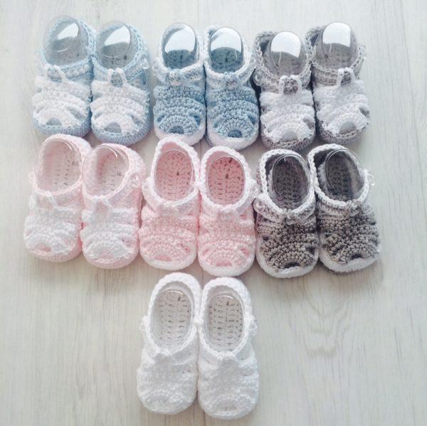 Baby Crochet Sandals