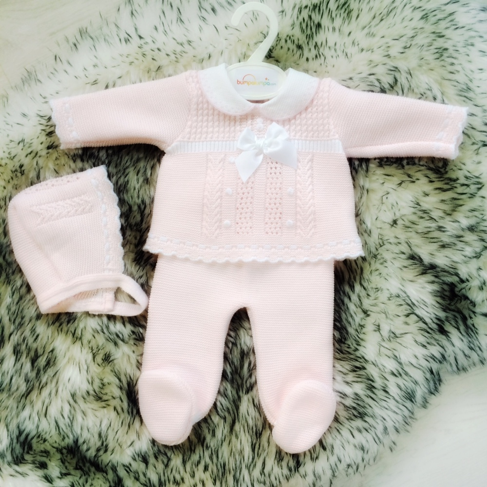 Baby Girls Pale Pink Outfit