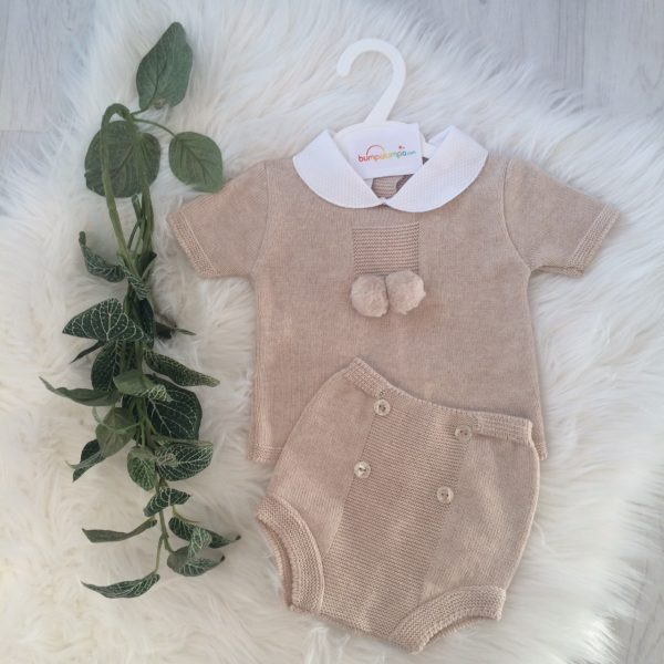 Beige Baby Outfit