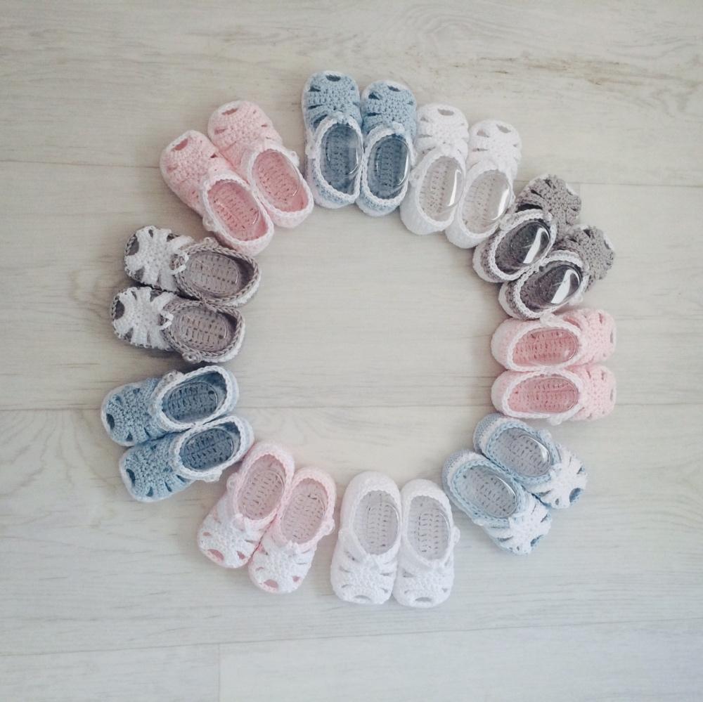 Baby Crochet Sandals Baby Boy Baby Girl Sandals Bumpalumpacom