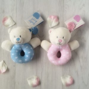 Baby Bear Soft Rattle