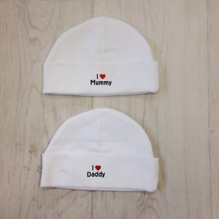 Slogan Baby Hat