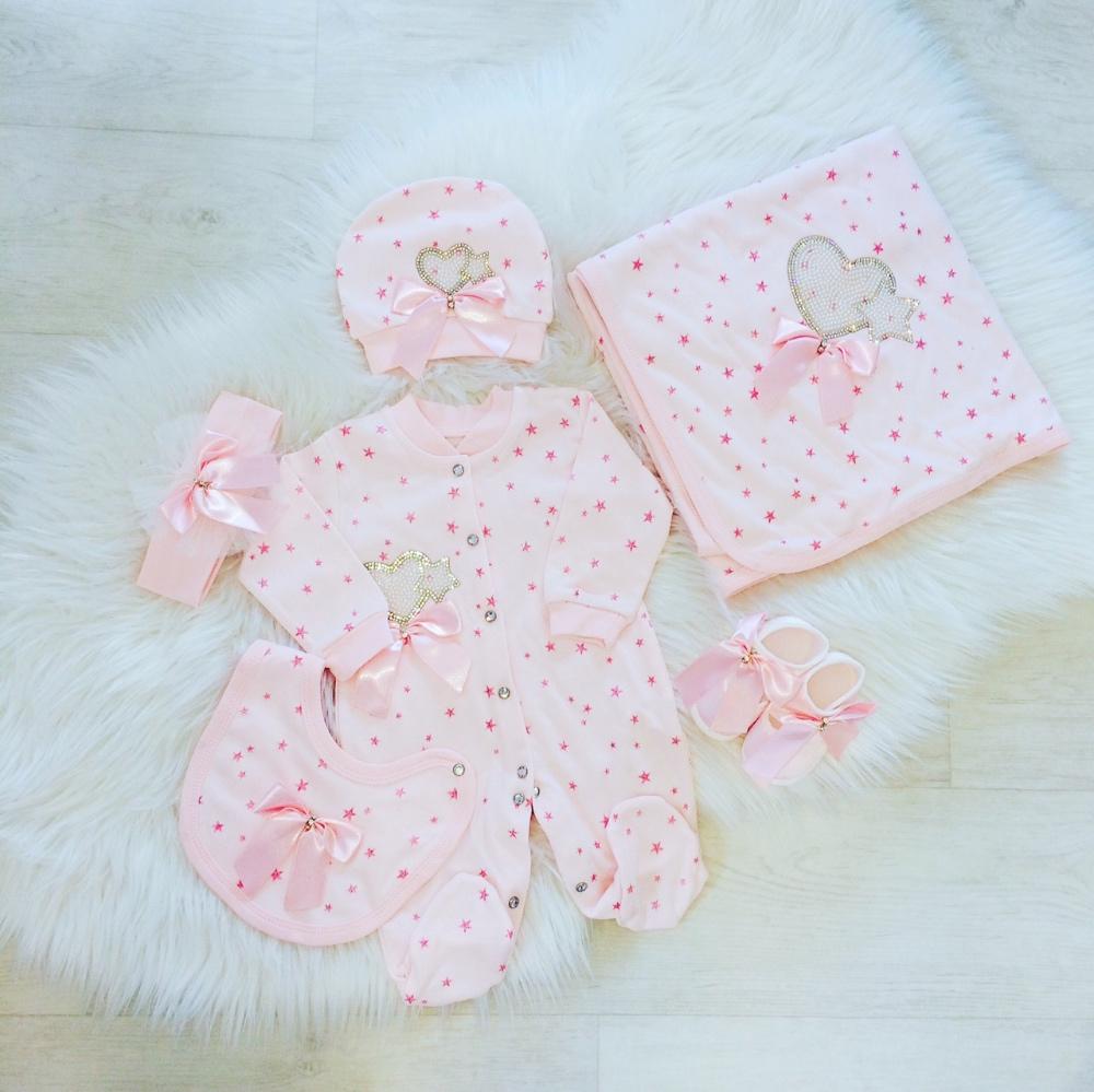 Pink Babygrow Gift Set