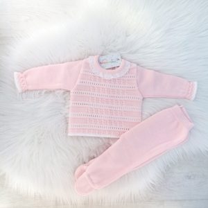 Baby Girls Pink Pram Set