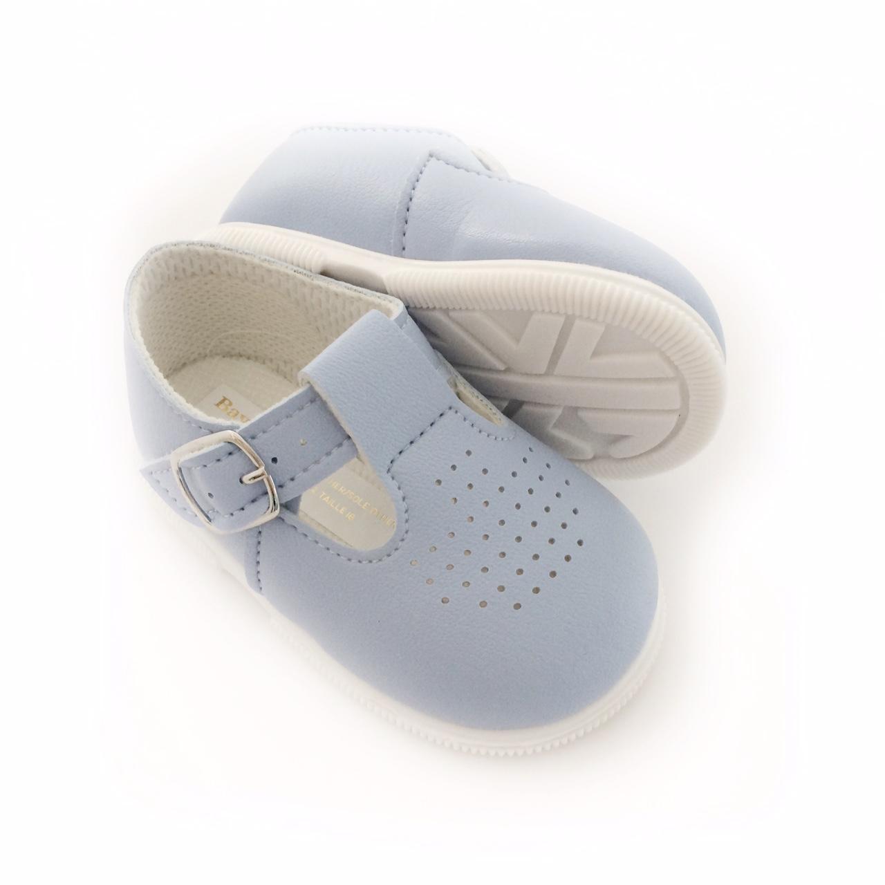 Babypod Blue T-bar Shoes