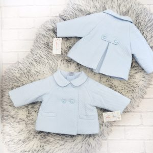Baby Boys Blue Padded Jacket