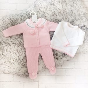 Baby Girls Three Piece Set