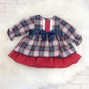 Baby Girls & Toddlers Red Check Dress