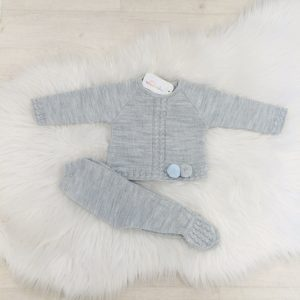 Baby Boys Grey Jumper & Trouser Set