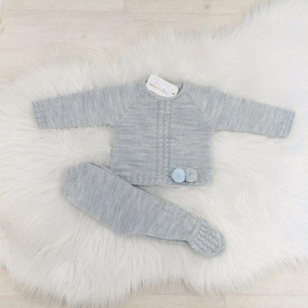 Baby Boys Grey Jumper & Trouser Set