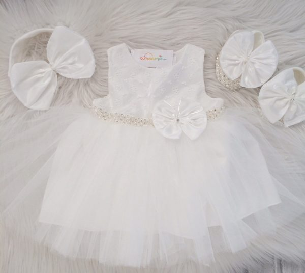 Baby Girls Christening Dress Outfit