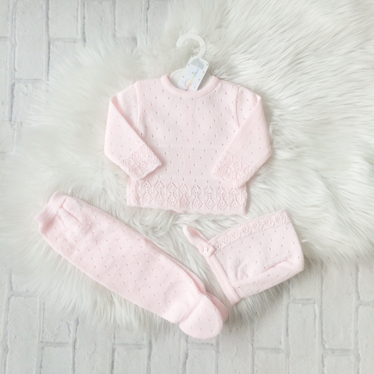 Baby Girls Baby Pink Outfit