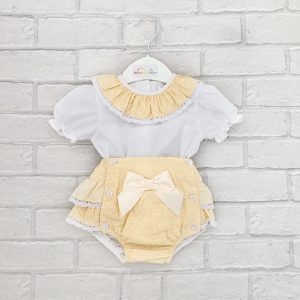 Baby Girls Lemon Outfit