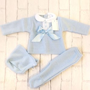 Blue Baby Pram Set