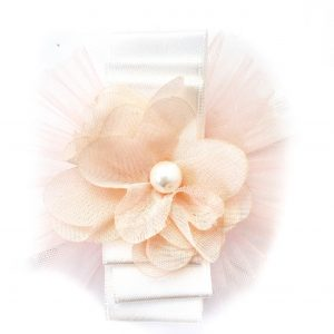 Baby Girls Peach Flower Headband