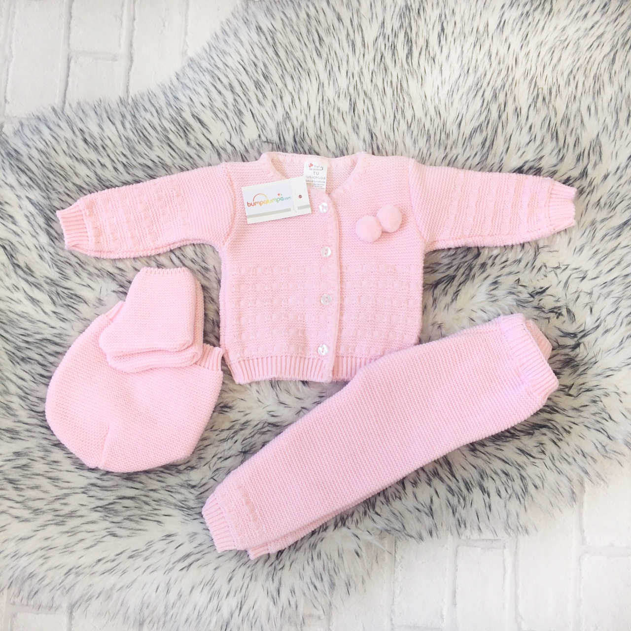 358ec2cc9fbd Baby Girls Four Piece Outfit