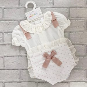 Ivory Baby Girl Outfit