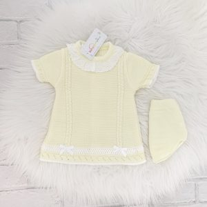 Baby Girls Lemon Dress & Knickers