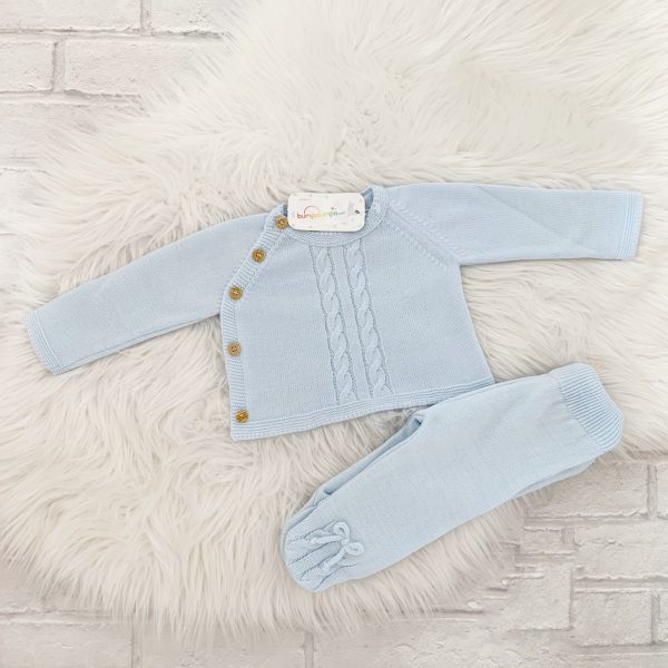 Baby Boys Blue Outfit
