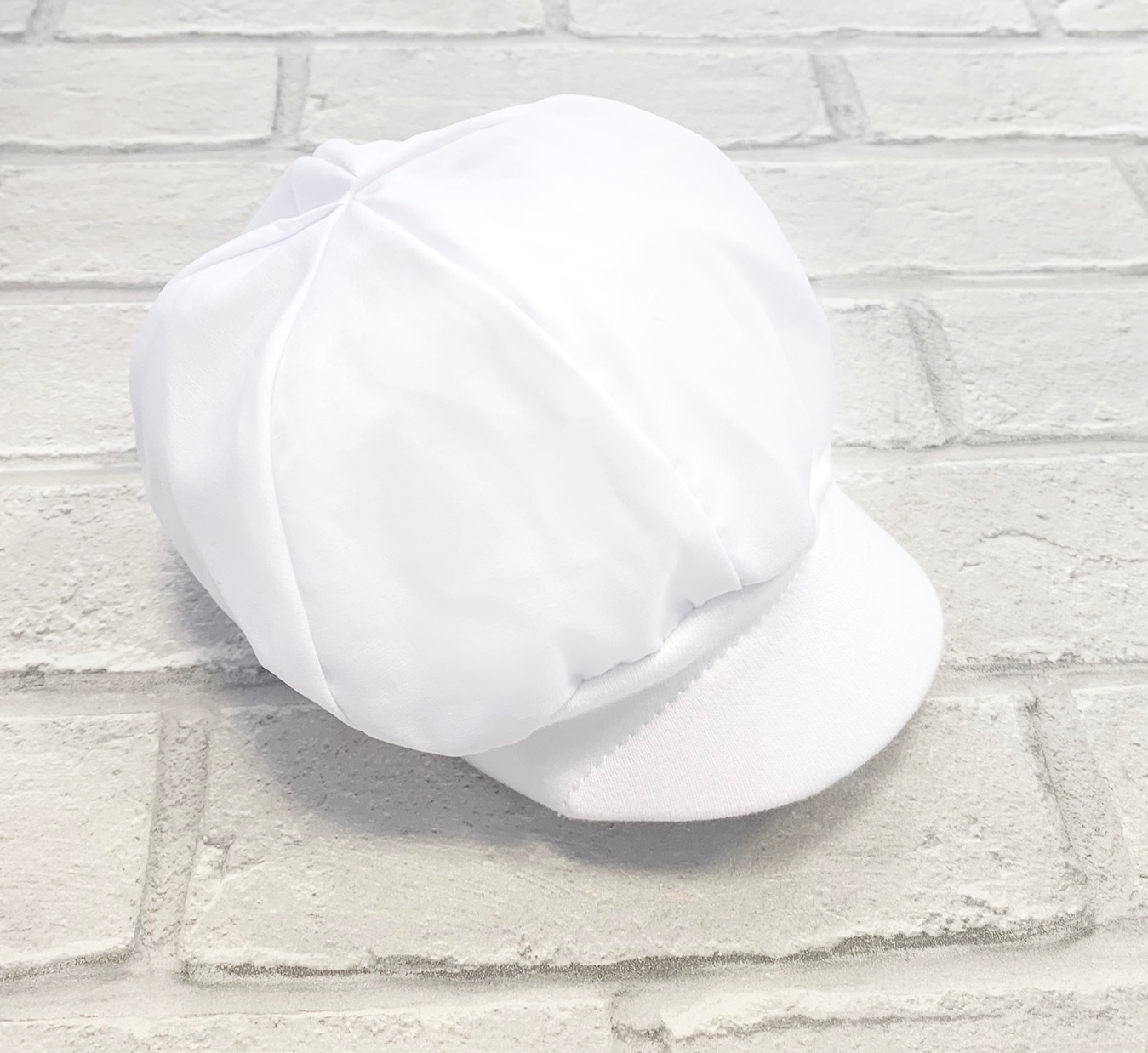 c02ee2936 White Baby Boys Sun Hat