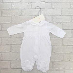 White Babygrow