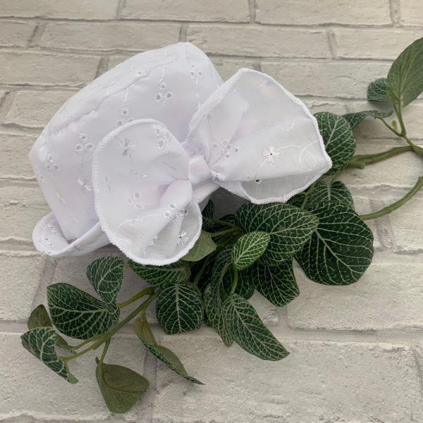 Baby Girls White Summer Hat