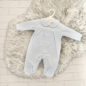 Traditional Blue Babygrow